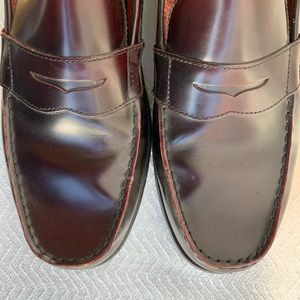Boston Men Leather Loafer Sz 12 100% Leather